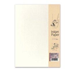 画像1: インクジェット専用和紙 汎紙苑(パンシオン)白 A4 10枚入 LP31