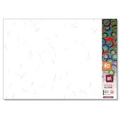 画像1: ナ-781V プリンタ対応厚漉和紙 和み紙 A3 大礼 しろ 100枚