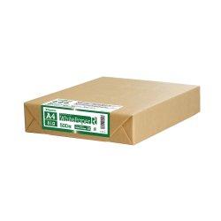 画像1: ナ-RT12 ホワイトペーパーR(グリーン購入法適合) A4 中厚口 500枚パック