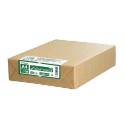 画像1: ナ-RT22 ホワイトペーパーR(グリーン購入法適合) A4 厚口 500枚パック