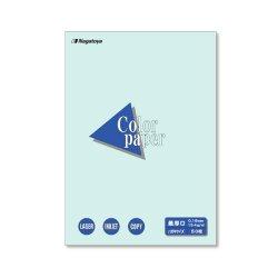 画像1: ナ-8510 カラーペーパーはがきサイズ(154g/m2) 水 50枚パック