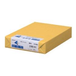 画像1: ナ-3554 カラーペーパー A4 最厚口 濃クリーム 250枚パック(※オンラインストア限定商品)