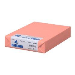 画像1: ナ-3579 カラーペーパー A4 最厚口 サーモン 250枚パック(※オンラインストア限定商品)