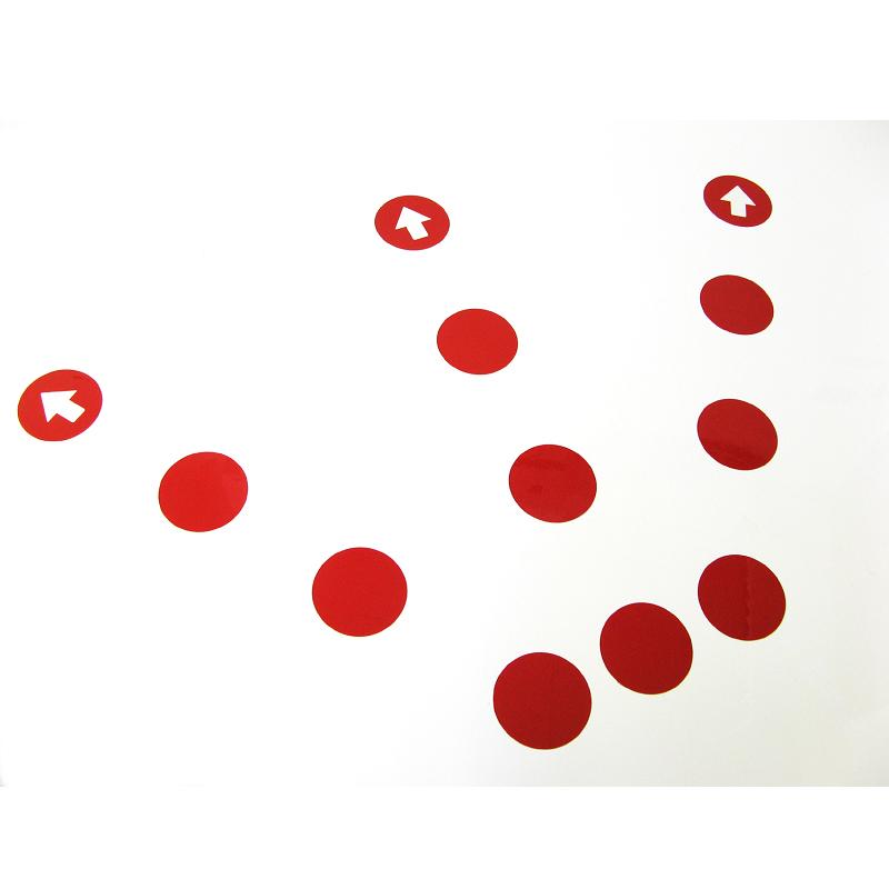 58mm丸型 赤 12片